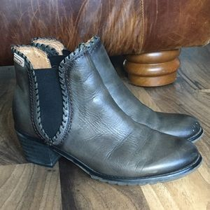 Pikolinos Ankle Boots Booties Olive Green Slate 9